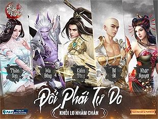 Thần Kiếm Mobile - Game kiếm hiệp nhập vai đến từ NPH Funtap sẽ ra mắt trong tháng 9 tới