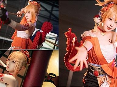 Genshin Impact: Cùng ngắm bộ ảnh cosplay cô nàng Yoimiya đến từ chính hãng miHoYo