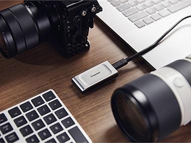 Đạt tốc độ kỷ lục với ổ cứng SSD XS2000 và DataTraveler Max USB 3.2 Gen2 hoàn toàn mới từ Kingston