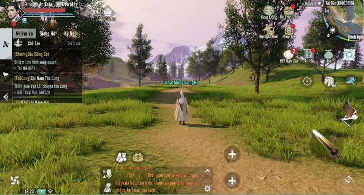 Nhất Mộng Giang Hồ sở hữu gameplay khác biệt hoàn toàn so với các game cùng thể loại
