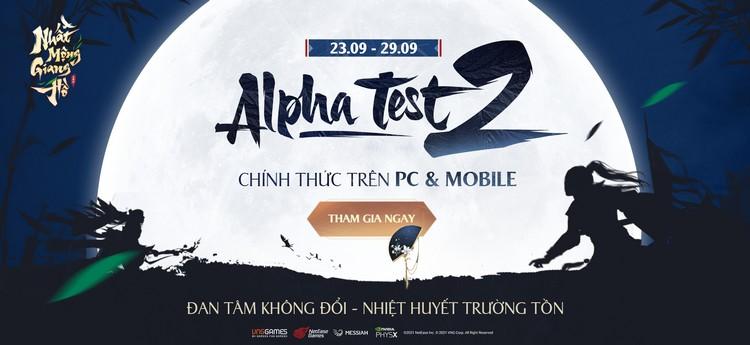 alpha text Nhất Mộng Giang Hồ