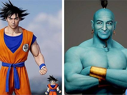 """Khi các nhân vật 2D nổi tiếng bỗng """"hóa người thật"""" nhờ tạo hình 3D chất lừ, Goku hay Mario chưa bao giờ đẹp như này"""