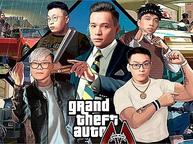 Masew bất ngờ đánh 8 gậy bản quyền với Độ Mixi khi mở nhạc hội linh đình trong GTA V
