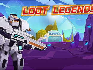 Cùng chơi Loot Legends: Robots vs Aliens - Game mobile đề tài bắn súng với quái vật