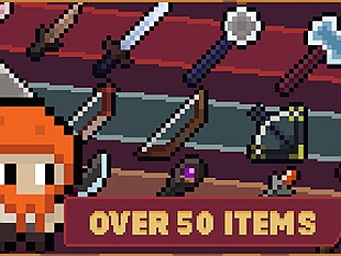 Cùng chơi Rogues` Tales game hành động RPG với đồ họa pixel đơn giản nhẹ nhàng