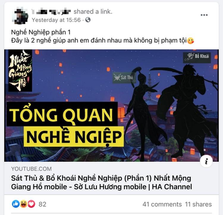 game thủ Nhất Mộng Giang hồ chia sẻ kinh nghiệm