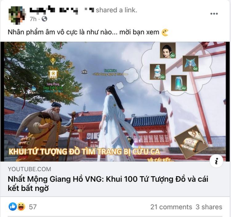 thông tin về game Nhất Mộng Giang Hồ VNG