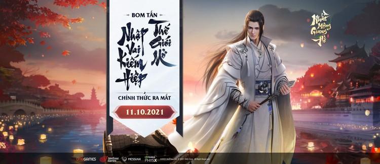 Nhất Mộng Giang Hồ VNG chính thức ra mắt từ 11/10