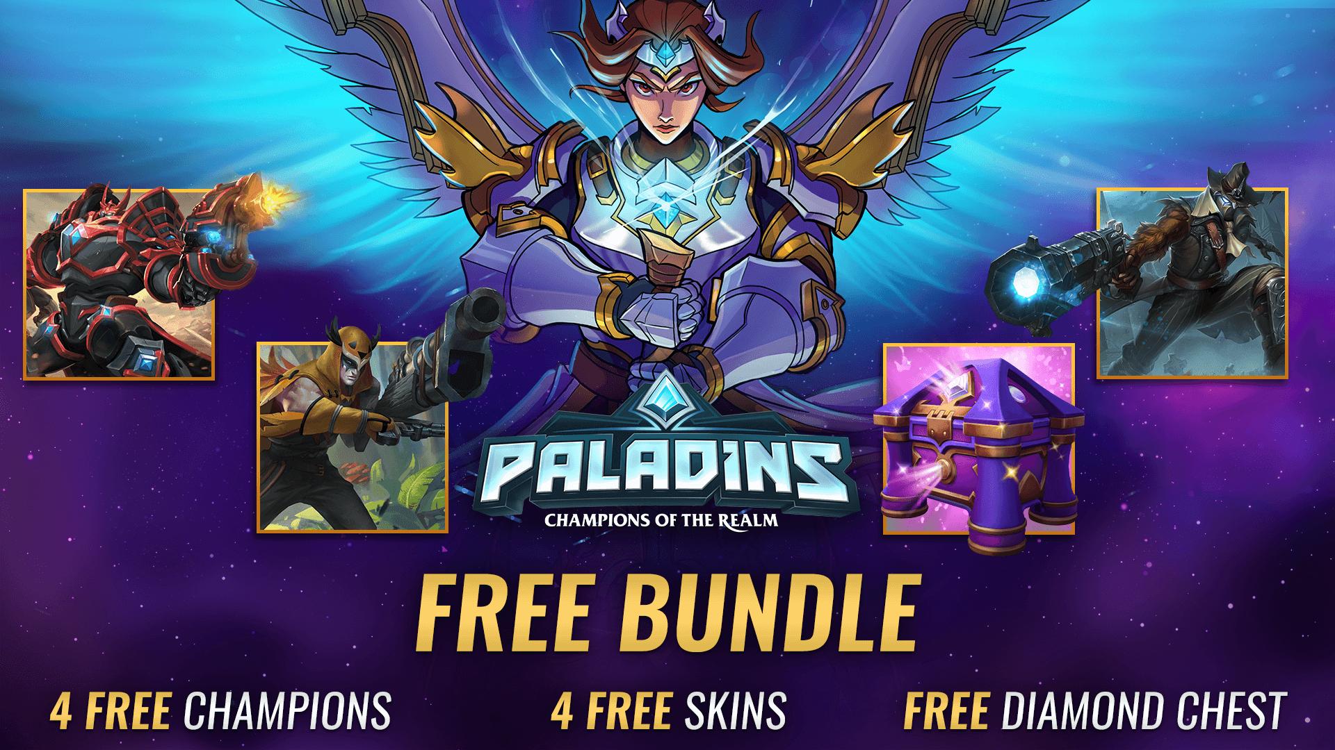 Paladins Epic Pack: Gói quà tặng trị giá hơn 400k đang được free trên Epic Games store