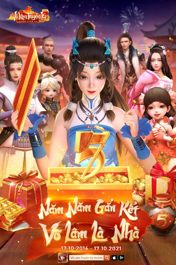 game thủ đang rất háo hức chờ đón sinh nhật của Võ Lâm Truyền Kỳ mobile