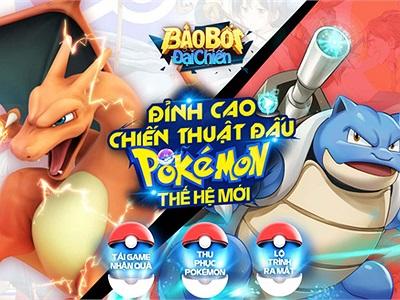 Bảo Bối Đại Chiến - tựa game chiến thuật lấy chủ đề Pokemon sắp phát hành tới tay game thủ Việt