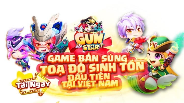Gun Star là game bắn súng tọa độ sinh tồn đầu tiên tại việt nam