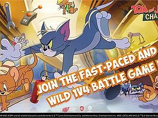 """Tom and Jerry: Chase - Đưa game thủ trở về tuổi thơ """"dữ dội"""" với mèo Tom và chuột Jerry"""