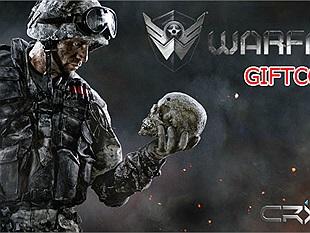 Tặng 500 giftcode Warface bộ 7 khẩu súng đặc biệt Cyber Slayer